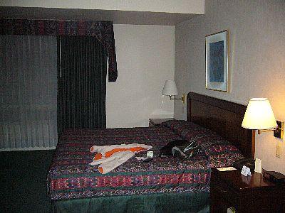 ガテマラのホテル