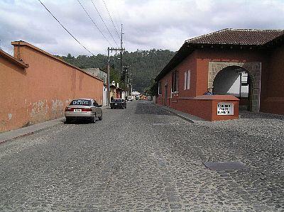 古都アンティグアの町並み