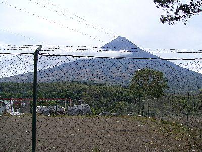 農園のある山